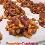 Pumpkin-Cranberry No-Bake Cookies