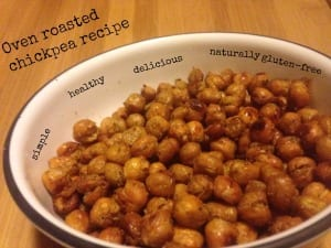 Oven Roasted Chickpeas Recipe