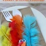 Turkey Utensil Pocket- Thanksgiving Craft