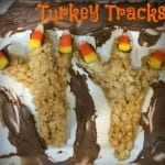 Peanut Butter Turkey Tracks Recipe