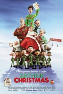 arthur_christmas_poster - Best Christmas Movies For Kids