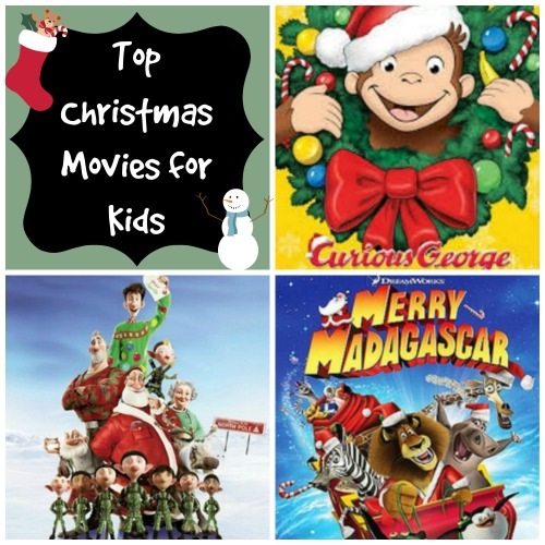top christmas movies for kids picmonkey collage - Best Christmas Movies For Kids