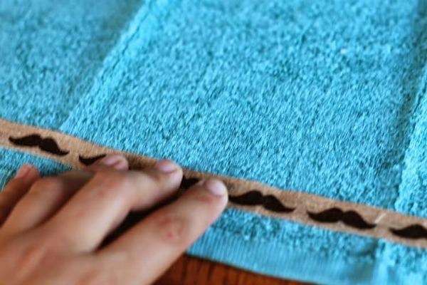 Ribbon for Towel Embellishment