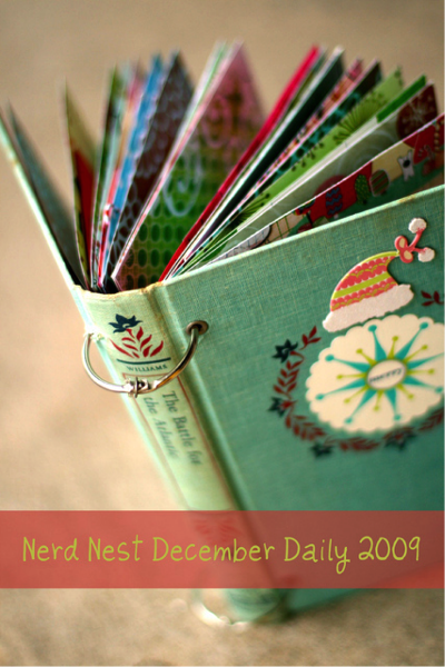 How To Make A Recycled Book Cover : Crafts with old christmas cards an easy upcycle