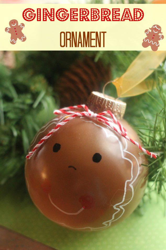 DIY Gingerbread Ornament | Family Focus Blog