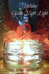 DIY Holiday Night Light