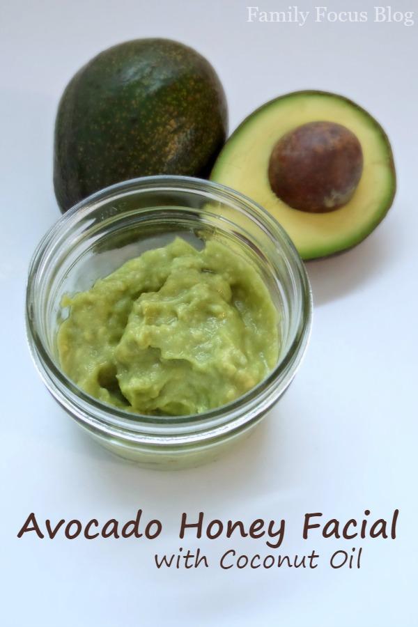 Avocado Honey Facial with Coconut Oil