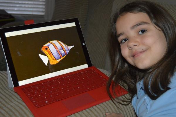 Microsoft Surface Pro 3 art