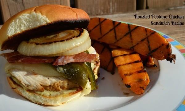 Roasted Poblano Chicken Sandwich Recipe