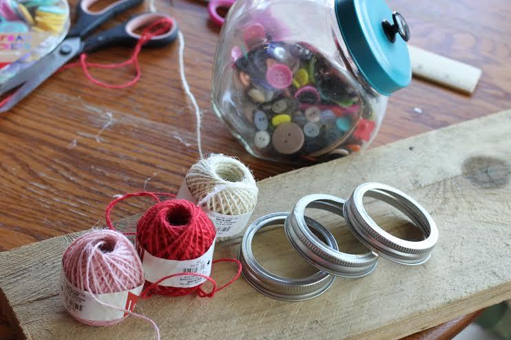 Valentine decor supplies