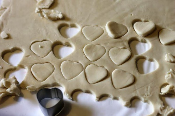 how to cut shortbread cookies