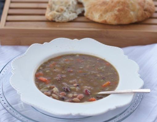 hambone bean soup