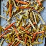 Maple-Balsamic Root Vegetable Fries Recipe