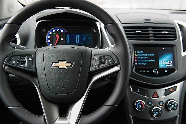 The 2015 chevy trax review family focus blog chevrolet trax 2013 interior sciox Image collections