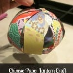 Chinese Paper Lantern Craft