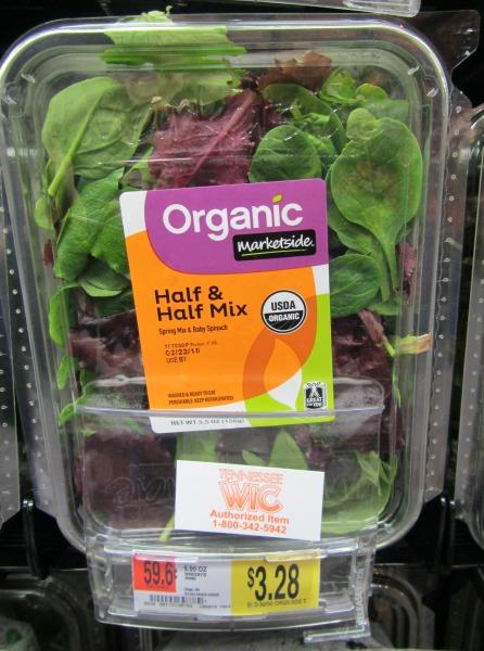 organic marketside labels