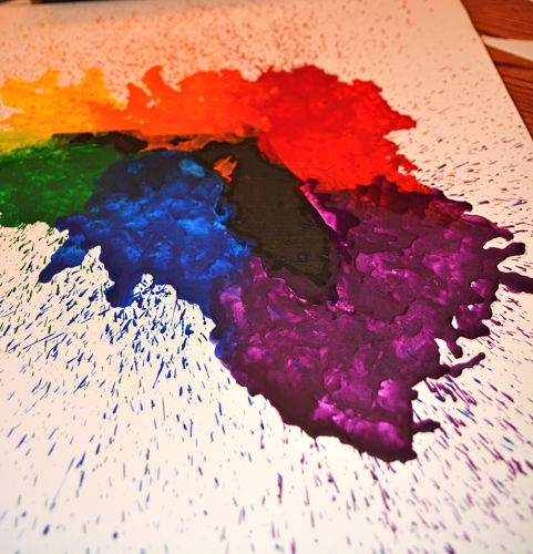 Crayon Art Decor