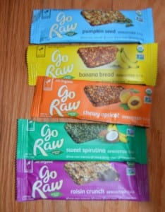 Go Raw Sprouted Bars