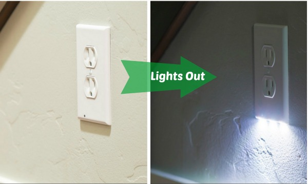 Clever led nightlight solution from snappower family focus blog guidelight turns on when dark mozeypictures Choice Image
