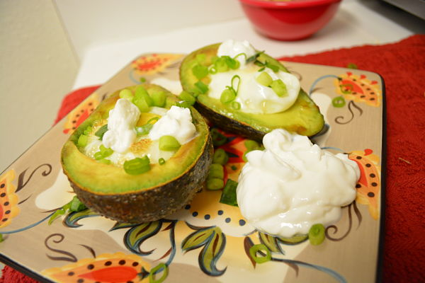 Baked Avocados and Eggs
