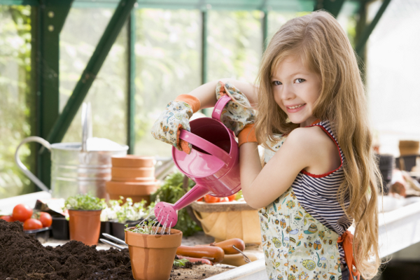 tips for how to grow a garden with your kids