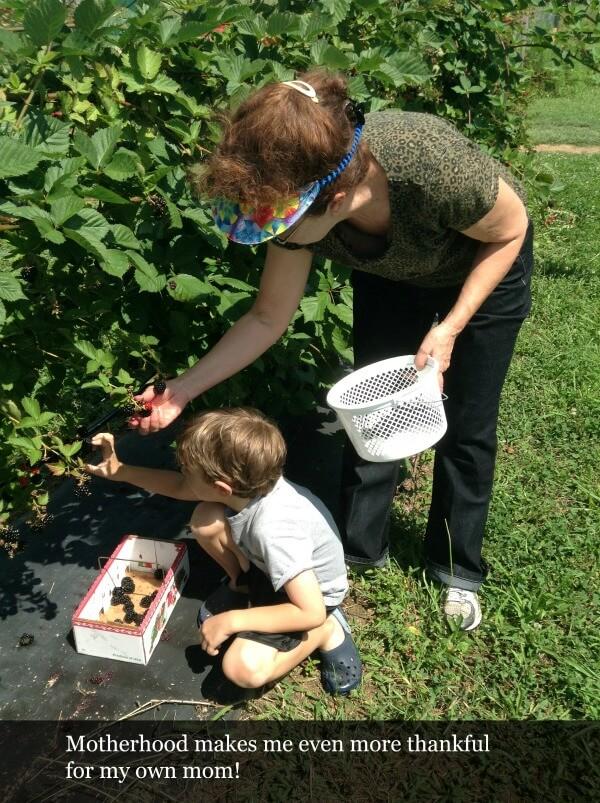 motherhood and gratitude
