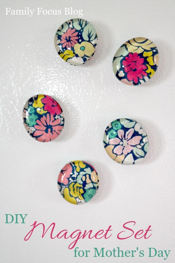 DIY Magnet Set for Mother's Day