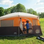 Coleman Family Tent Review:  Jenny Lake Fast Pitch Cabin