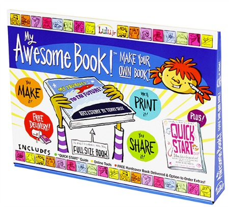 Lulu jr book making kit