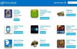 RealSense Kid Apps