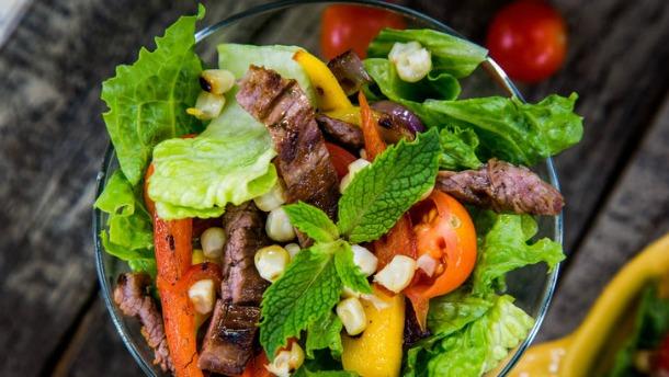 Mojito Steak Salad Recipe