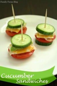 Gluten-Free Cucumber Sandwiches