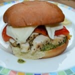 Summer Grilling Recipe:  Red Pepper Grilled Chicken Sandwich