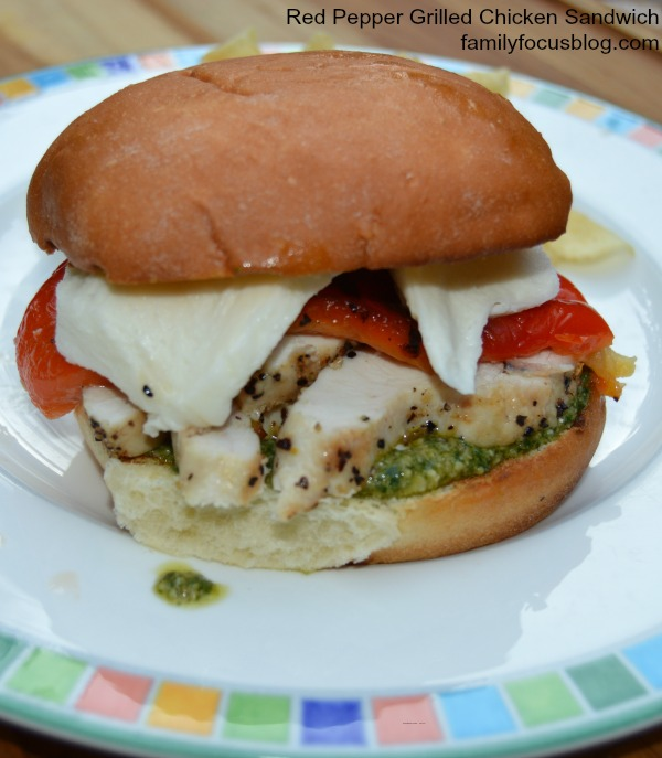 Red Pepper Grilled Chicken Sandwich