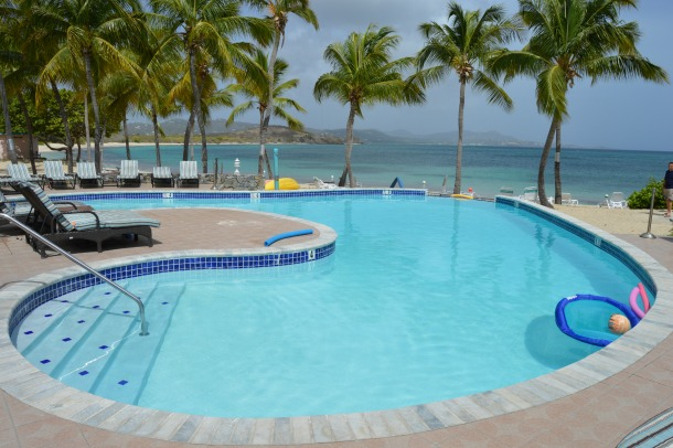 pool at Grotto Beach St. Croix