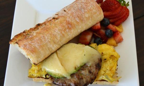 Chicken Sausage Breakfast Sandwich Recipe