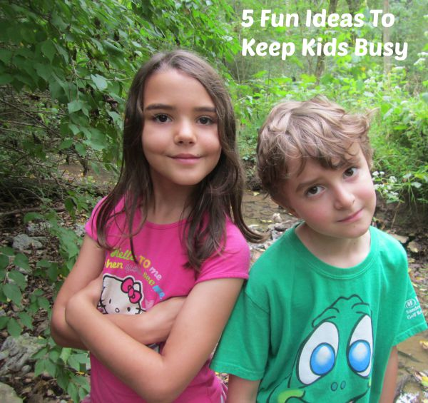 creative activities for kids to keep them busy