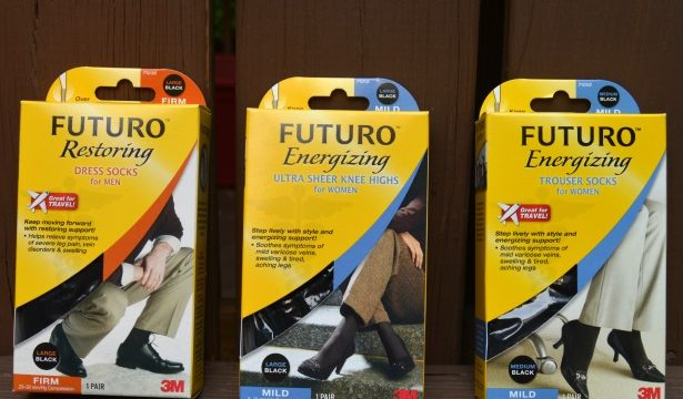 FUTURO™ Graduated Compression Legwear and FUTURO™ Stand Strong Sweepstakes