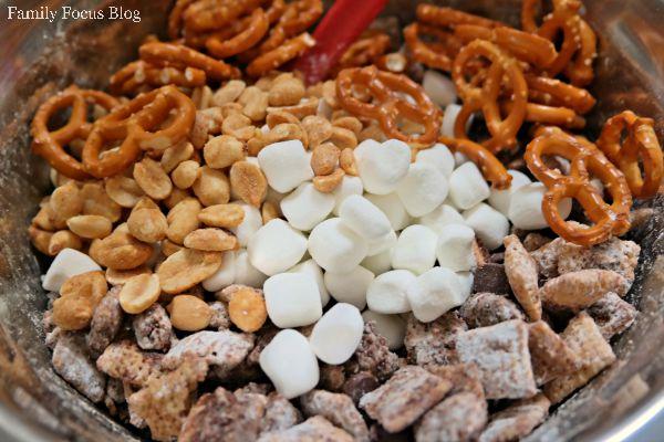 Smores Gluten Free Snack Mix
