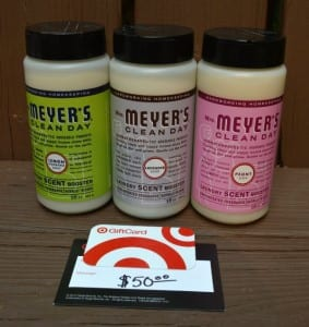 Mrs. Meyer's Clean Day Laundry Scent Boosters- Review and Giveaway