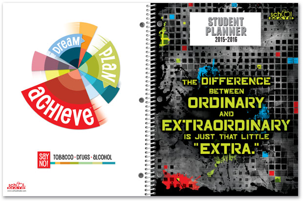 back to school must have planner