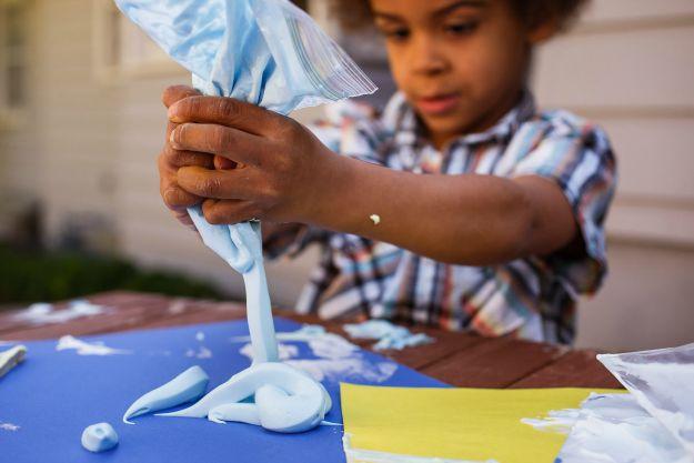 foam art paint