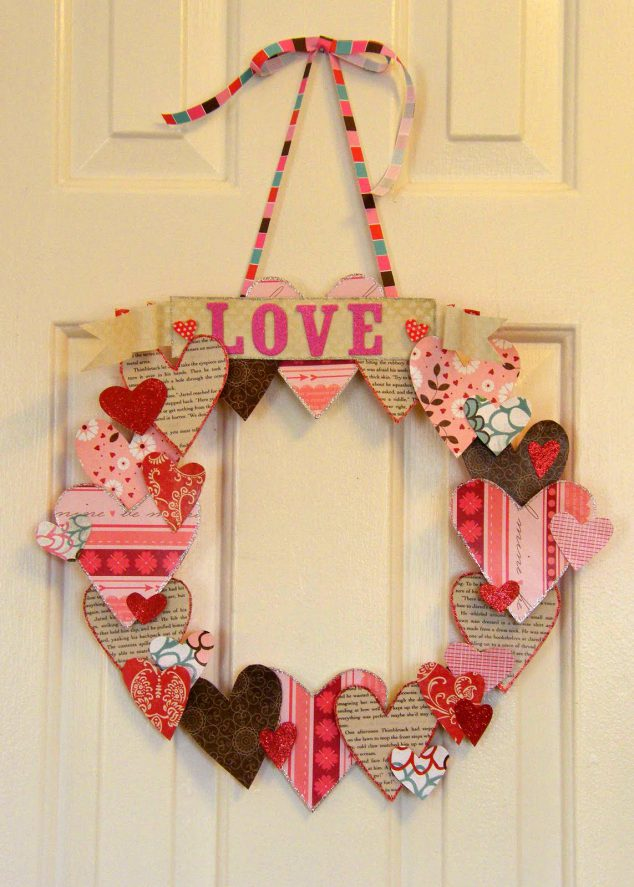 5 ways to reuse greeting cards family focus blog - Decorazioni san valentino ...