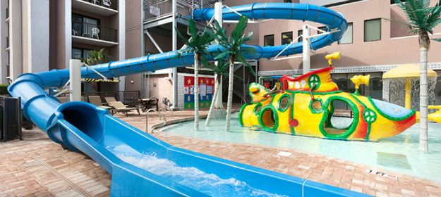 myrtle beach hotel with water park