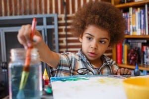Fun Salt Paint Art Project For Kids