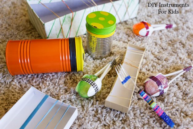 DIY instruments for kids