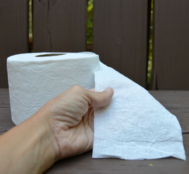 better clean with less toilet paper