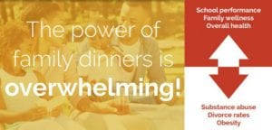Importance Of Family Dinners & The Billion Family Dinners Challenge