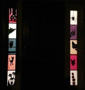 DIY Halloween Decor- Window Silhouettes