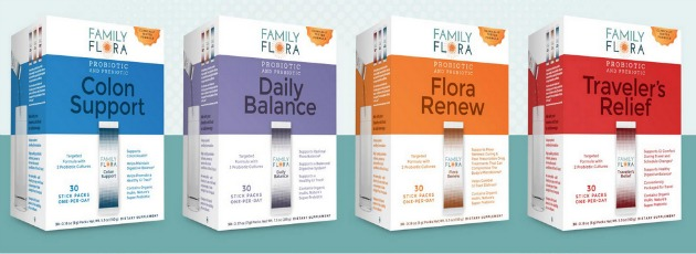 Probiotic And Prebiotic In One- Family Flora Packets